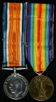 John Allbeson : (L to R) British War Medal; Allied Victory Medal