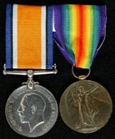 Edward Appleyard : (L to R) British War Medal; Allied Victory Medal