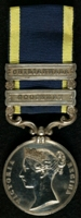 James Henry Archer : Punjab Medal with clasps 'Goojerat', 'Chilianwala'