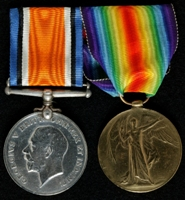 John Bamford : (L to R) British War Medal; Allied Victory Medal