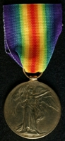 James Banks : Allied Victory Medal