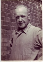 Frank Cyril Benton : Photograph of Frank in Tameside Local Studies and Archives Centre.  Reference: Acc.3444
