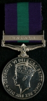 Brian Benson Beresford : General Service Medal 1918-62 with clasp 'Malaya'