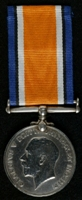 Walter Calverley : British War Medal