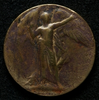 Alfred Cobain : Allied Victory Medal