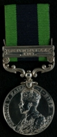 Joseph Collier : India General Service Medal with clasp 'Afghanistan N.W.F. 1919'
