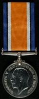 William Darlington : British War Medal