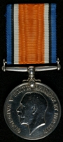 John William Dodd : British War Medal
