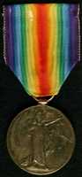 Francis John Earles : Allied Victory Medal