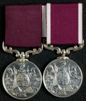J. Ferguson : (L to R) Long Service and Good Conduct Medal; Long Service and Good Conduct Medal