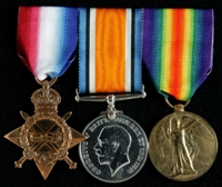 Frederick Thorley Finucane : (L to R) 1914-15 Star; British War Medal; Allied Victory Medal