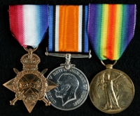 John Finucane : (L to R) 1914-15 Star; British War Medal; Allied Victory Medal