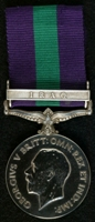Charles Edward Godfrey : General Service Medal 1918-62 with clasp 'Iraq'