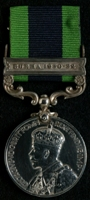 William Gordon : India General Service Medal with clasp 'Burma 1930-32'