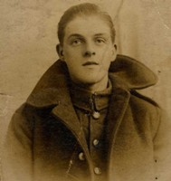 Harry Greenwood : Photograph of Harry in Tameside Local Studies and Archives Centre.  Reference: MR4/17/299