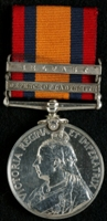 E. Hacking : Queen's South Africa Medal with clasps 'Defence of Ladysmith', 'Belfast'