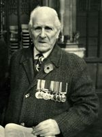 Thomas Edward Haddock : Photograph of Tommy in Tameside Local Studies and Archives Centre.  Reference: MRP/10/041
