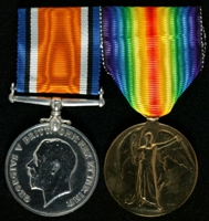 John William Jameson : (L to R) British War Medal; Allied Victory Medal