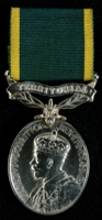 Norman Joyce : Efficiency Medal