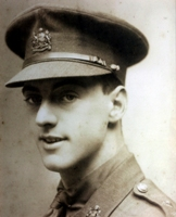 William Kay : Photograph of William on display in the Museum of the Manchester Regiment.  Reference: ASTMR:1997.25.1