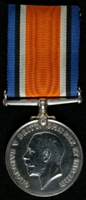 George William Kightly : British War Medal
