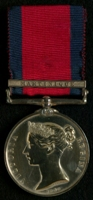 Philip Le Geyt : Military General Service Medal with clasp 'Martinique'