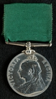 W. H. Mann : Volunteer Long Service and Good Conduct Medal