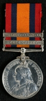 James William Marland : Queen's South Africa Medal with clasps 'Cape Colony', 'Orange Free State'