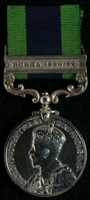 James Newman : India General Service Medal with clasp 'Burma 1930-32'