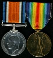 John Newton : (L to R) British War Medal; Allied Victory Medal