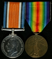 Charles Herbert Ollerenshaw : (L to R) British War Medal; Allied Victory Medal