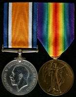 Clifford Phillips : (L to R) British War Medal; Allied Victory Medal