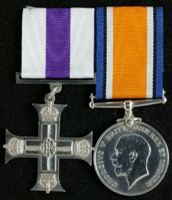 Frederick Arthur Pickles : (L to R) Military Cross; British War Medal