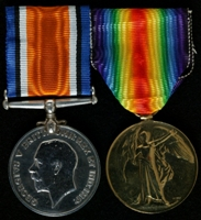 Collin Pinnington : (L to R) British War Medal; Allied Victory Medal