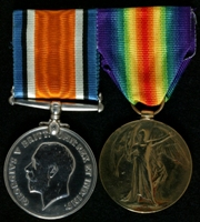 Robert Channon Reeves : (L to R) British War Medal; Allied Victory Medal