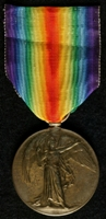 John William Roberts : Allied Victory Medal