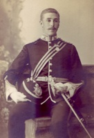 Alfred Barnes Rose : Photograph of Alfred in Tameside Local Studies and Archives Centre.  Reference: MR1/23/31