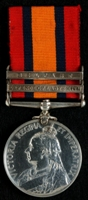 J. Salt : Queen's South Africa Medal with clasps 'Defence of Ladysmith', 'Belfast'
