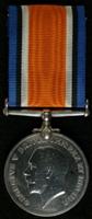Goliah Scholes : British War Medal