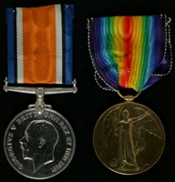 George Seddon : (L to R) British War Medal; Allied Victory Medal
