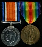 James Shelmerdine : (L to R) British War Medal; Allied Victory Medal