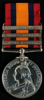 Charles Edward Tayleur : Queen's South Africa Medal with clasps 'Cape Colony', 'South Africa 1901' 'South Africa 1902'
