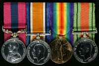Thomas Taylor : (L to R) Distinguished Conduct Medal; British War Medal; Allied Victory Medal; 1939-45 Defence Medal