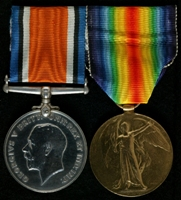 William McGarry Taylor : (L to R) British War Medal; Allied Victory Medal