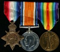 John Tomlinson : (L to R) 1914-15 Star; British War Medal; Allied Victory Medal