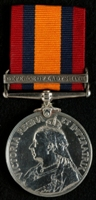 William Upton : Queen's South Africa Medal with clasp 'Defence of Ladysmith'