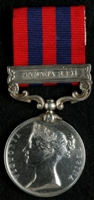 Thomas Walker : India General Service Medal (1854) with clasp 'Samana 1891'