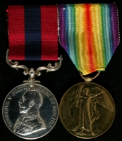 Henry Ware : (L to R) Distinguished Conduct Medal; Allied Victory Medal