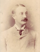 John Edward Watson : Photograph of John in Tameside Local Studies and Archives Centre.  Reference: MR1/23/10
