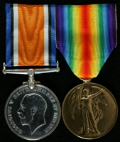 Robert William Watson : (L to R) British War Medal; Allied Victory Medal